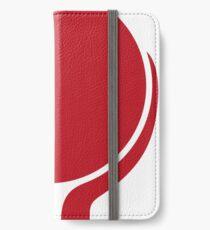 Red Hands iPhone Flip-Case/Hülle/Skin