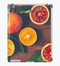 Still Life with Ripe Juicy Citrus Fruits iPad Case/Skin