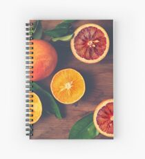 Still Life with Ripe Juicy Citrus Fruits Spiral Notebook
