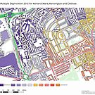 Multiple Deprivation Norland ward, Kensington & Chelsea by ianturton