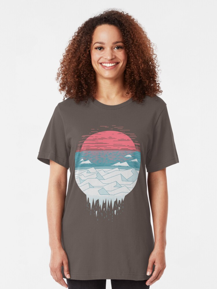 Vista alternativa de Camiseta ajustada El gran deshielo