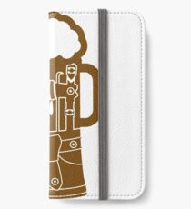 cool lederhose costume suit beer pitcher drinking drinking party celebrate drinking alcohol symbol cool shirt oktoberfest iPhone Wallet/Case/Skin