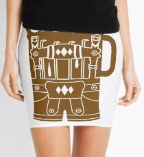 cool lederhose costume suit beer pitcher drinking drinking party celebrate drinking alcohol symbol cool shirt oktoberfest Mini Skirt