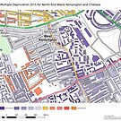 Multiple Deprivation North End ward, Kensington & Chelsea by ianturton