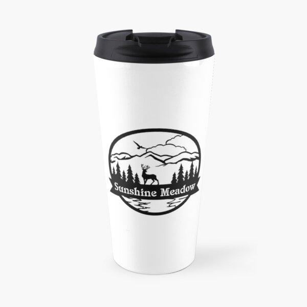 sunshine meadow transparent  Travel Mug