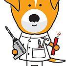 Daphne the Dentist Dog by samedog