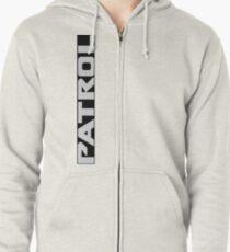 Patrol Logo Side Zipped Hoodie