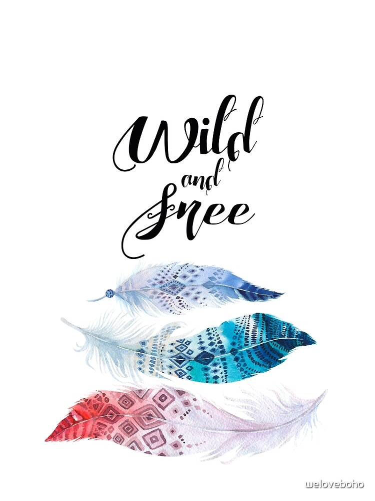 Feathers, Wild and free de weloveboho