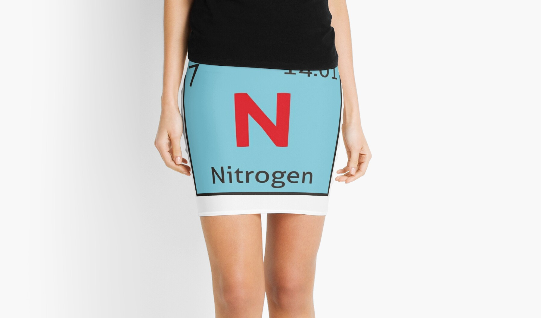The periodic table nitrogen mini skirts by destinysagent the periodic table nitrogen gamestrikefo Choice Image