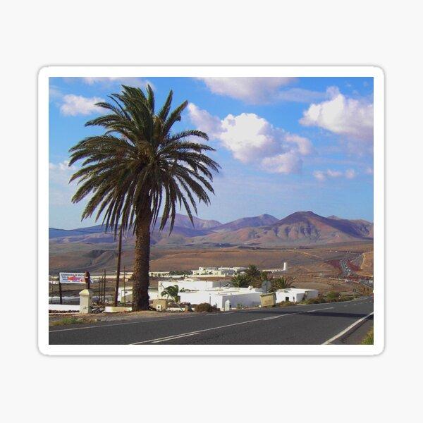 Lanzarote (Spanish Canary Islands) Sticker