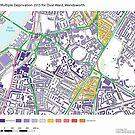 Multiple Deprivation Oval ward, Wandsworth by ianturton