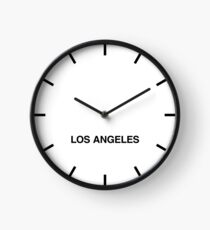 Los Angeles Time Zone Newsroom Wall Clock Clock