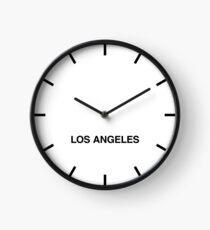 Newsroom Wall Clock Los Angeles Time Zone Clock