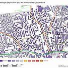 Multiple Deprivation Peckham ward, Southwark by ianturton