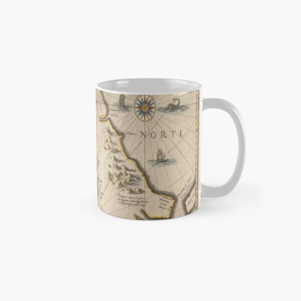 Old map 4 Classic Mug