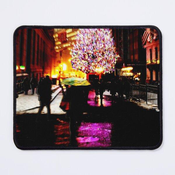 NYC XMAS Mouse Pad