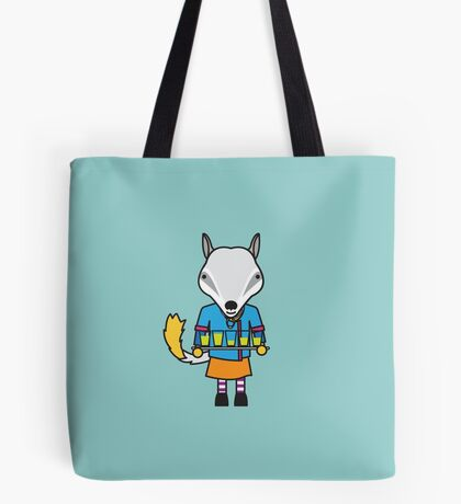 Naomi the Numbat Nutritionist Tote Bag