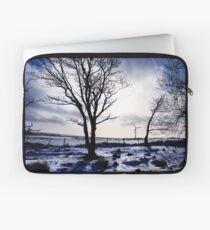 Winter snow Scottish landscape Laptop Sleeve