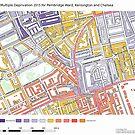 Multiple Deprivation Pembridge ward, Kensington & Chelsea by ianturton