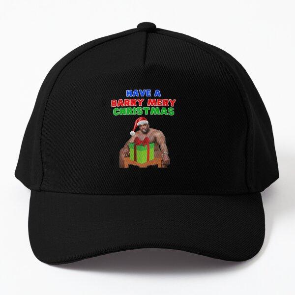 Have a Barry mery Christmas- Barry wood christmas - barry woodsitting on bedho ho hoHave a Barry Christmasbarry woodmeme Baseball Cap