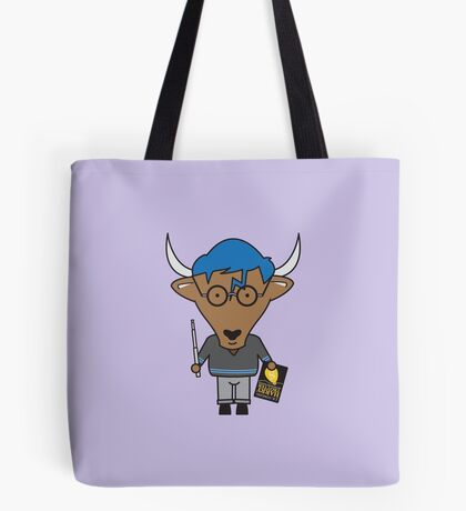 Yaxley the Young Adult Librarian Yak Tote Bag