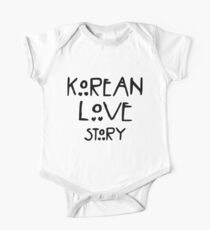 """""""Korean love story"""" - For drama lovers. One Piece - Short Sleeve"""