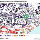 Multiple Deprivation Poplar ward, Tower Hamlets by ianturton