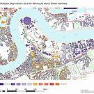 Multiple Deprivation Peninsula ward, Tower Hamlets by ianturton