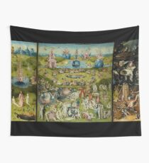 The Garden of Earthly Delights by Hieronymus Bosch (1480-1505) Wall Tapestry