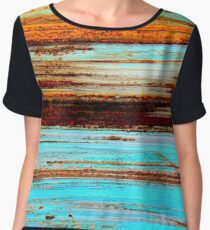 Aegean Sunset Women's Chiffon Top
