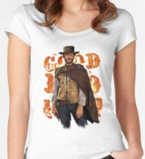 Clint Eastwood Fitted Scoop T-Shirt