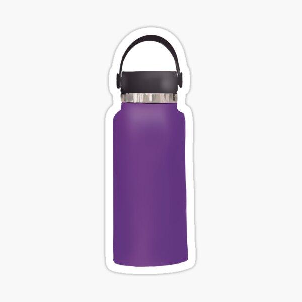 Hydro flask purple water bottle Sticker