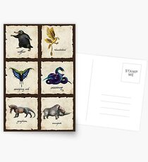 Awesome Creaturess Postcards