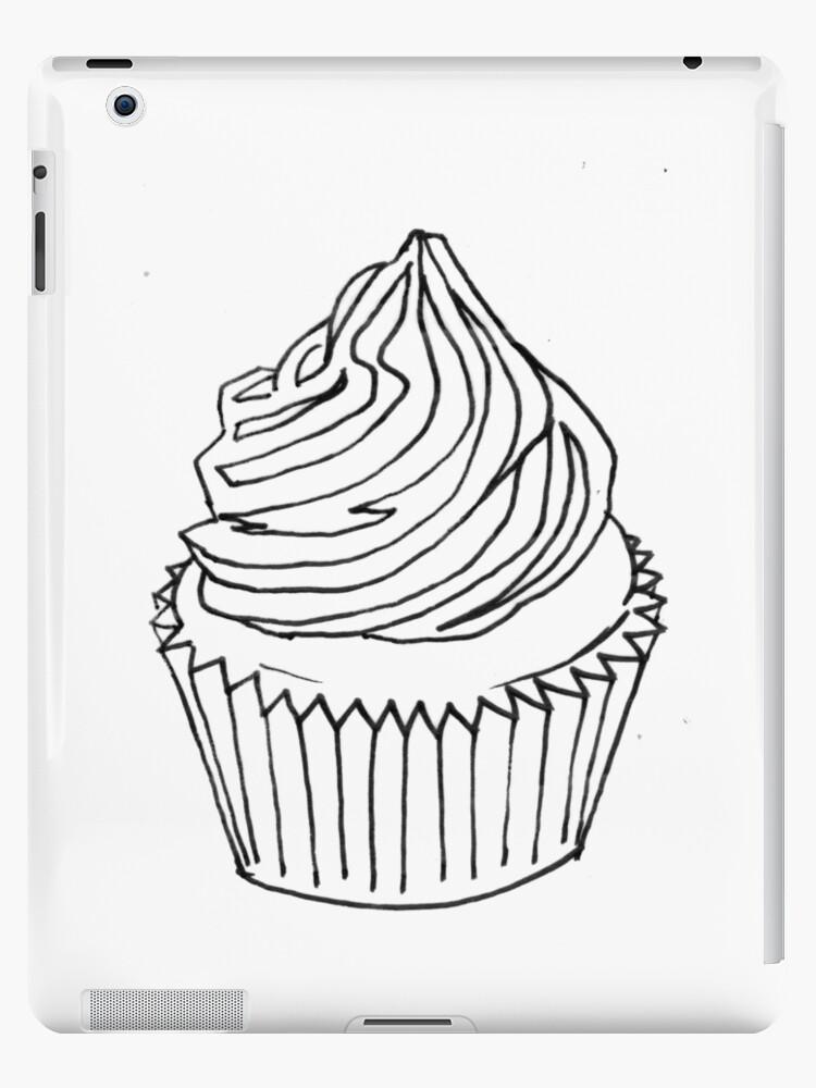 Fantástico Cupcakes Para Colorear Inspiración - Dibujos Para ...