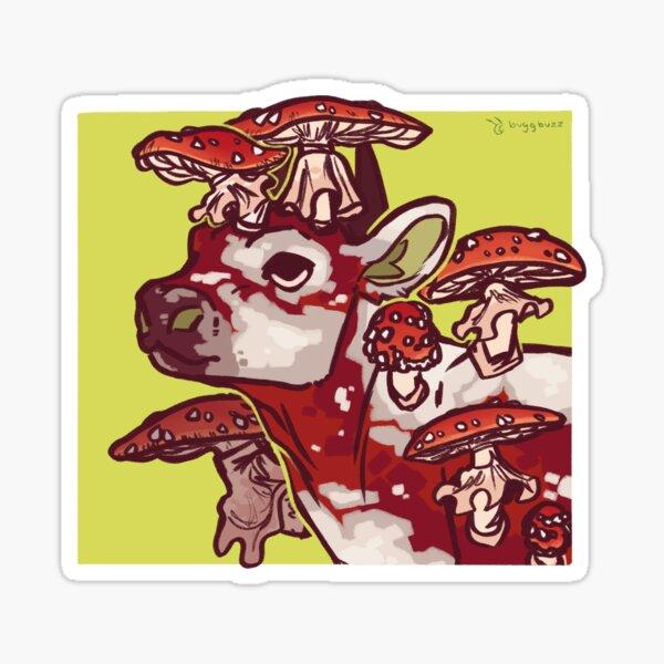 Mooshroom (Red) Sticker