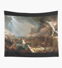 The Course of Empire: Destruction by Thomas Cole (1836) Wall Tapestry