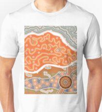Salzsee - Flats - Salzwüste Unisex T-Shirt