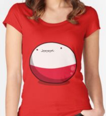 Little Ball of Electrodes Women's Fitted Scoop T-Shirt