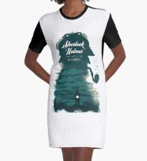 sherlock holmes Graphic T-Shirt Dress