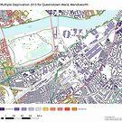 Multiple Deprivation Queenstown ward, Wandsworth by ianturton
