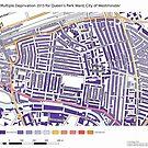 Multiple Deprivation Queen's Park ward, Westminster by ianturton