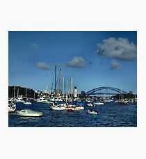Sydney sailors Photographic Print