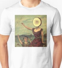 in the aeroplane over the sea Unisex T-Shirt