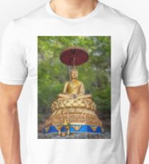 Golden Thai Buddha Unisex T-Shirt