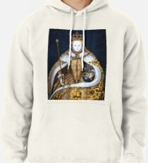 Queen Elizabeth I of England in Her Coronation Robe Pullover Hoodie