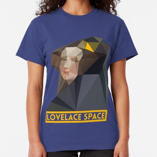 LovelaceSpace logo in Yellow Classic T-Shirt