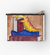 Devoured by Bookworms Zipper Pouch