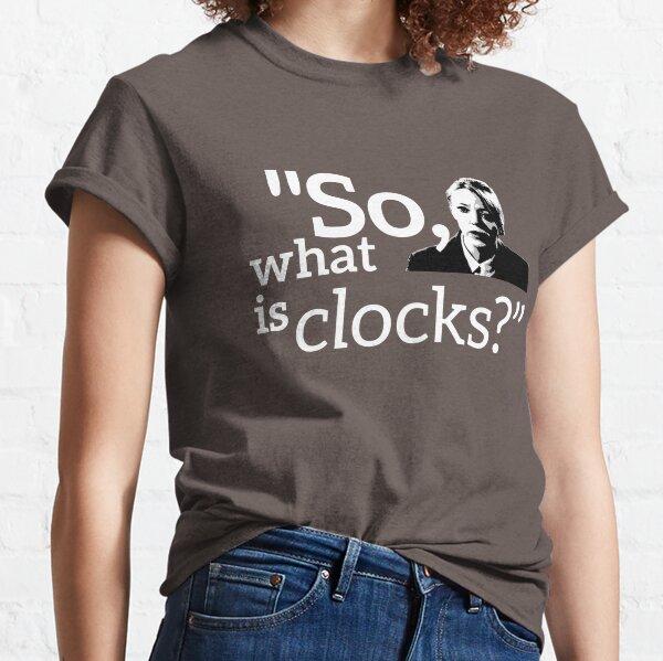 Philomena Cunk: Clocks Classic T-Shirt
