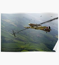 Battle of Britain dogfight Poster