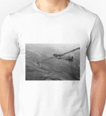 Battle of Britain dogfight B&W Unisex T-Shirt